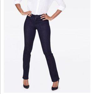 NWT NYDJ Rinse Marilyn Straight Jeans 00P